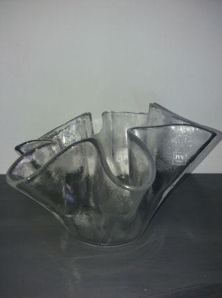 Coupe en verre soufflé