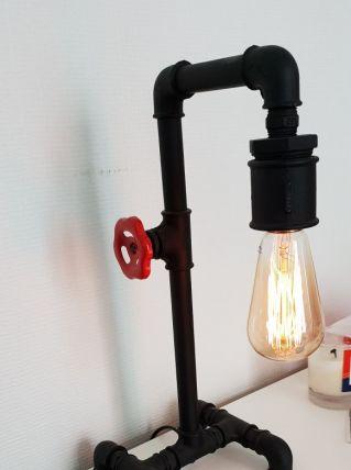 Lampe a poser vintage indus