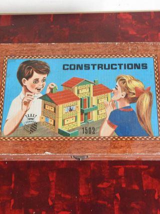 Jeu de construction en bois Garnier