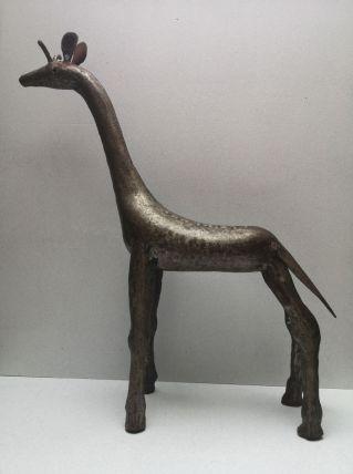 Girafe métal tendance