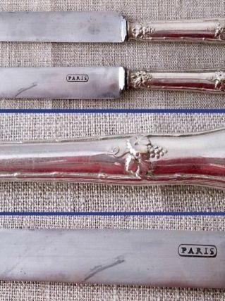 6 jolis couteaux à entremet