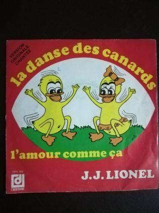 Vinyle 45t La danse des canards