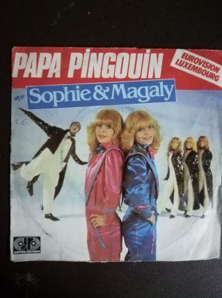 Sophie et Magalie Le Papa pingouin Vinyle 45t