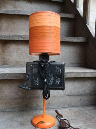 "LAMPE RECUP' VINTAGE ""POLAROID"" 4"