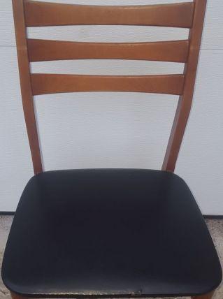 6 chaises année 60