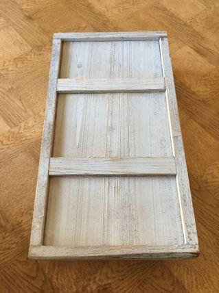 Plateau en bois dans sa patine d'ori