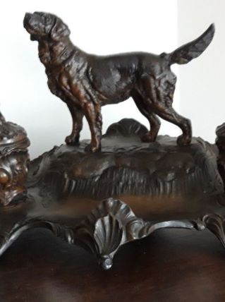 Encriers en bronze