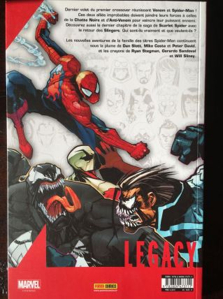 Marvel Legacy : Spider-Man N° 4 - Venom Inc