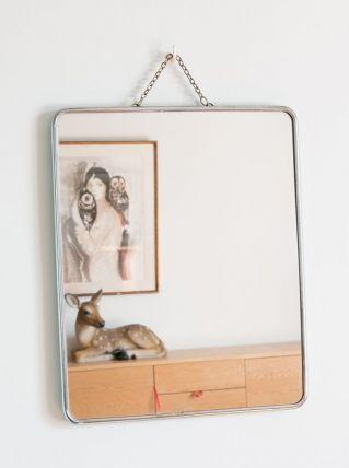 Miroir de barbier 30x25cm