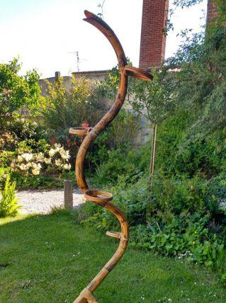 Porte plante Serpent vintage