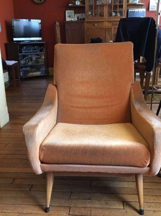 Vends un divan et une paire de fauteuils