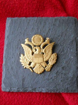 insigne de casquette Officier US 2eme G.M