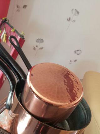 Véritable casserole en cuivre