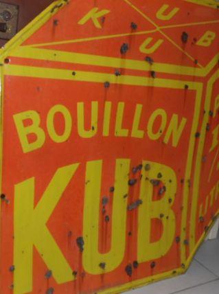 """plaque emaillée """"kub"""""""