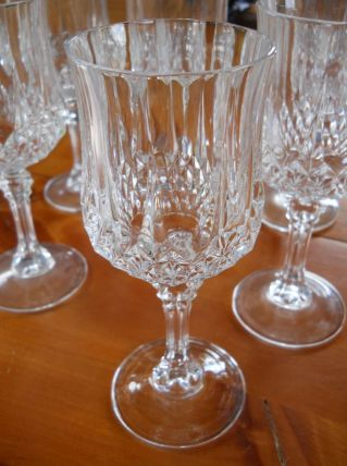 verres à eau cristal d'Arques
