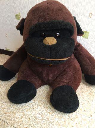 Peluche gorille ancienne 70 cm de hauteur