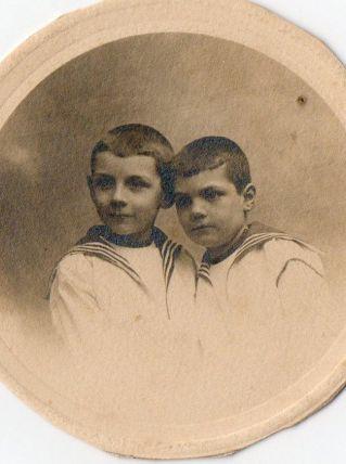 photo ancienne 2 enfants