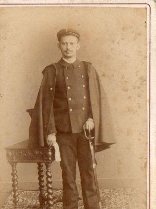 photo ancienne soldat vers 1900