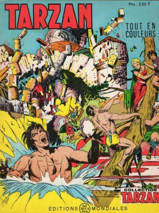 Bande dessinée Tarzan n°51 de 1971