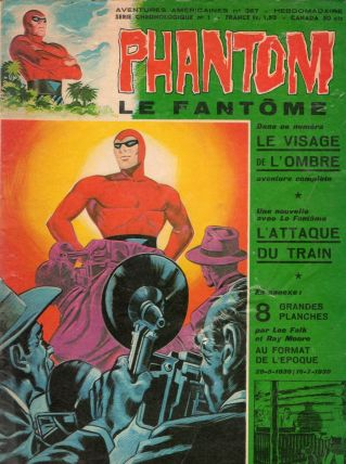 Bande dessinée PHANTOM n° 387 de 1972