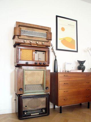 Radios vintage de collection