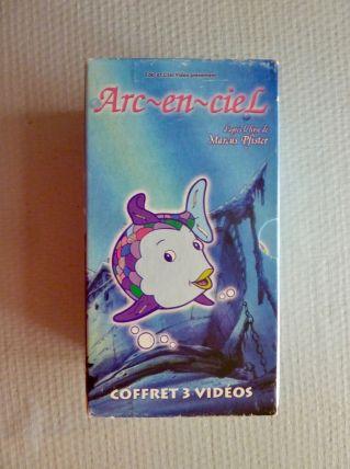 "Coffret de 3 videos de ""Arc-en-ciel"""