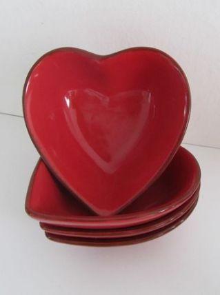 Ramequins cœur