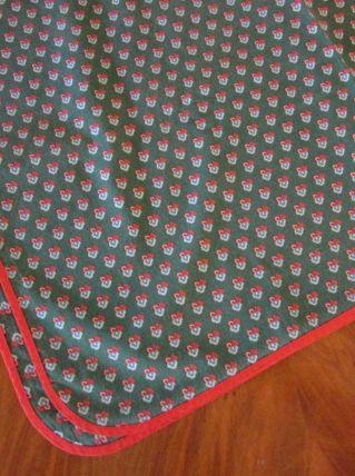 nappe rectangulaire+7serviettes