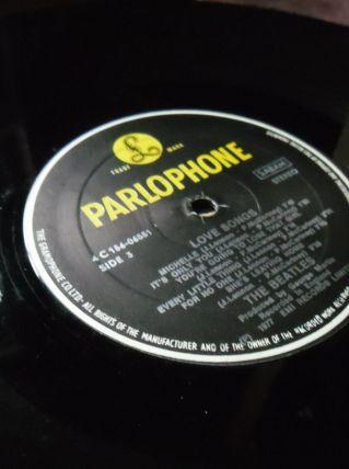 33T/LP BEATLES  LOVE SONGS  PARLOPHONE  BELGIQUE
