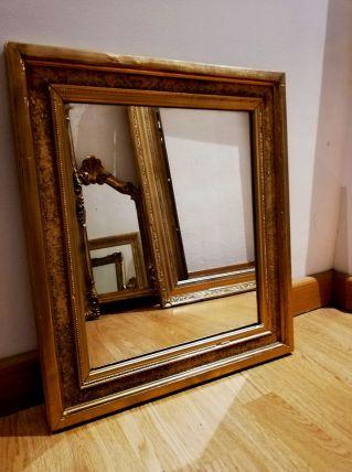 Miroir doré style XIXeme