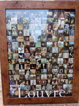 Cadre du musée du louvre RARE