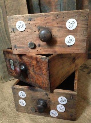 tiroir anciens meuble de métier