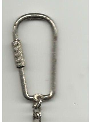 Porte-clé vintage en bon état.