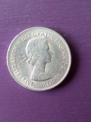 Pièce commémorative 5 schillings 1960