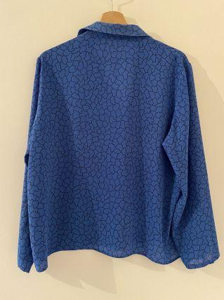 Blouse bleu