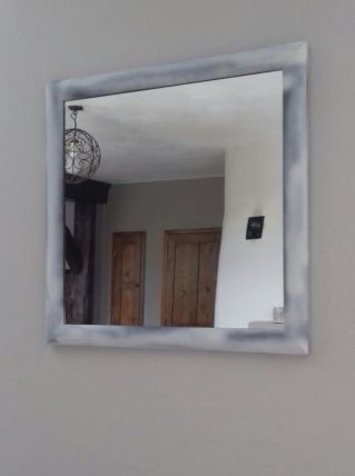 Miroir carré 51 cm