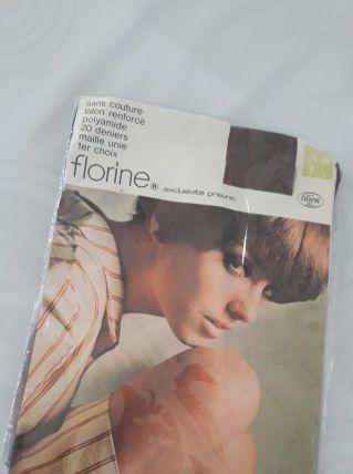 Bas nylon vintage FLORINE (prisunic)