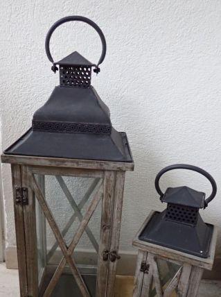 Lanternes en bois