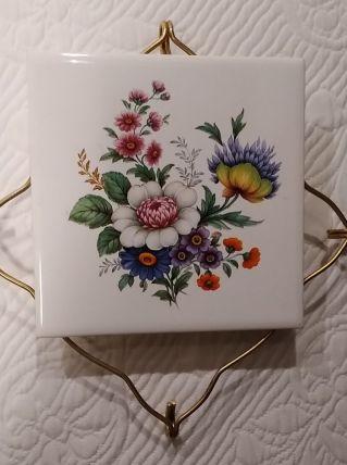 Dessous de plat V.B La Ferté Gaucher modéle Fleuri