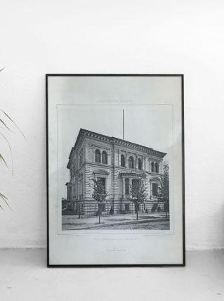 Illustration architecture Berlin 19ème Villa Königin