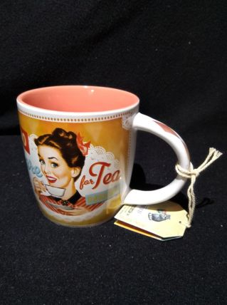 Mug vintage Thé neuf