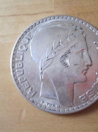 20 Francs Turin 1938 piece en argent
