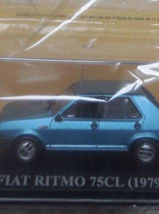 Miniature Fiat Ritmo 75 CL 1979 -Nos chères voitures d'antan