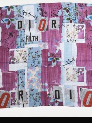 Foulard dior