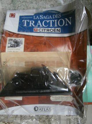 Miniature traction 7C Faux Cabriolet gaz de ville 1937 - Sag