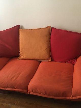Canapé jonque 2 places de chez Maison Coloniale