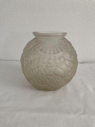 Vase boule Art Deco