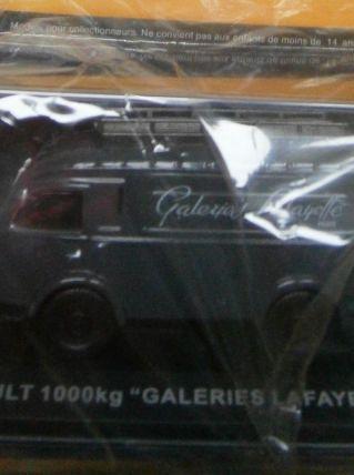 Miniature Renault 1000 kg Galeries Lafayettes