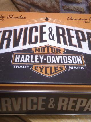 BOITE A SUCRE HARLEY DAVIDSON