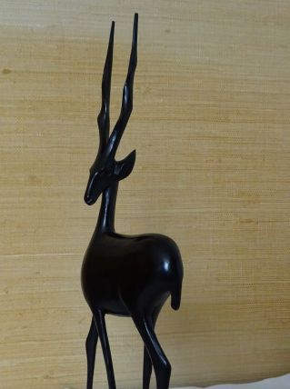 Antilope africaine en Ebène